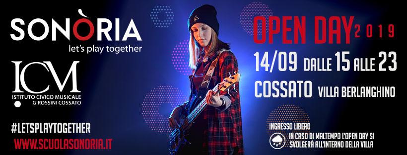 Open Day 2019 – 14 settembre 2019